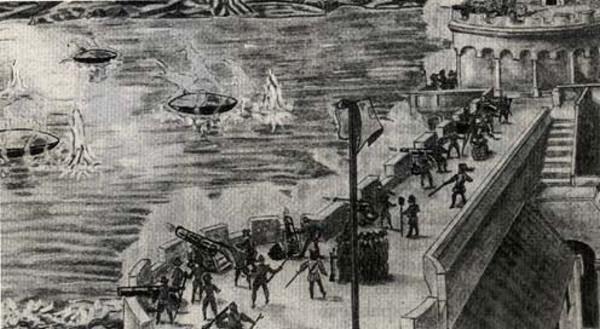 1561年纽伦堡的UFO空中大战目击事件