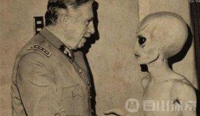 美国与ufo外星人合作曝光参观核基地