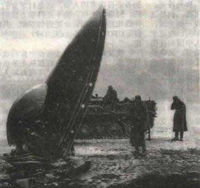 美国新墨西哥州不明飞行物UFO坠毁