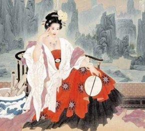 四大美女杨玉环(杨贵妃)到底有多美_容貌复原图杨玉怀美貌
