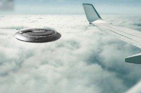 美两名飞行员共睹ufo