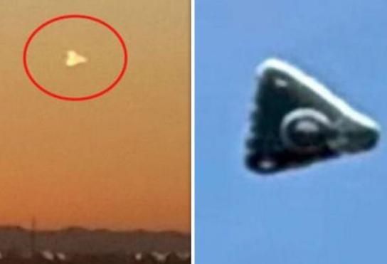 """目击ufo飞行器疑是美军绝密""""黑科技""""—TR-3B飞行器"""