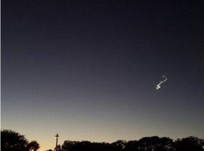 旧金山湾区上空亮光被证实为流星