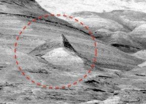 古文明遗迹?火星上惊见清晰「人形雕像」!