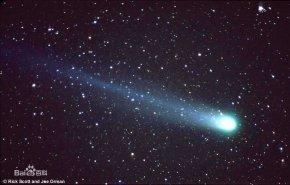 彗星撞地球_彗星有与其他星球撞过吗?