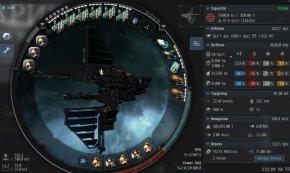 EVE舰船面板数据