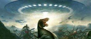美UFO爱好者热点讨论,恐龙外星人在地球?