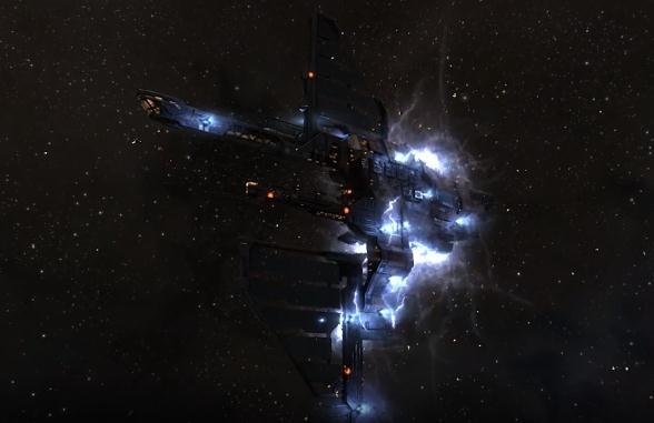 EVE各类船舰爆炸精美效果