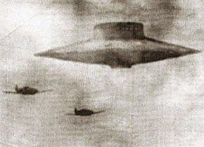 二战德国黑科技飞机-圆盘飞行器ufo
